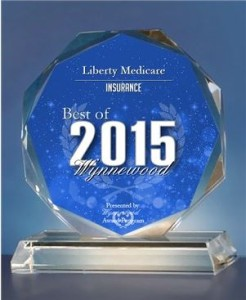 Liberty Medicare has been selected for the 2015 Best of Wynnewood Award in the Insurance category