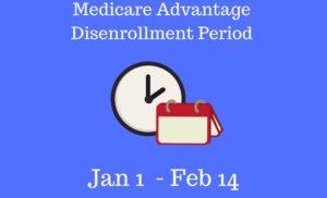 Medicare Advantage Disenrollment Period (MADP)